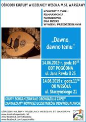 """Koncert Filharmonii Narodowej pt. """"Dawno, dawno temu…"""""""