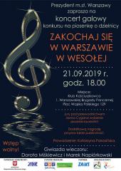 """""""Zakochaj się w Warszawie w Wesołej"""" - koncert galowy konkursu"""
