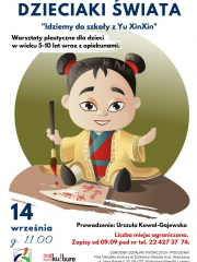Dzieciaki świata - warsztaty plastyczne dla dzieci