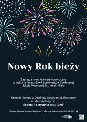 """Koncert Noworoczny """"Nowy Rok Bieży"""""""
