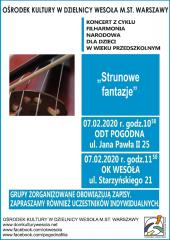 Strunowe Fantazje - Koncert Filharmonii Narodowej