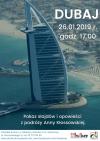 Pokaz slajdów i opowieści z podróży Anny Kłossowskiej o Dubaju
