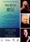 """""""Karol Wojtyła. Myśli"""" - spotkanie poetycko-muzycznego poświęcone św. Janowi Pawłowi II"""