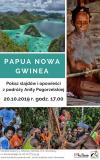 Pokaz slajdów i opowieści z podróży do Papui Nowej Gwinei
